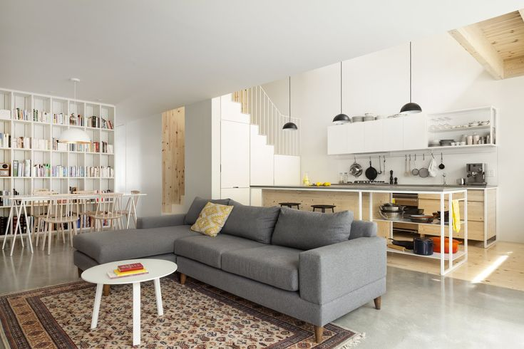 Photo 8 of 21 in Before & After: A Century-Old Row House in Montreal…