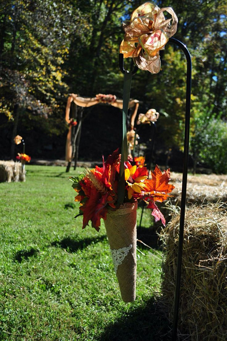 Decorazioni navate My Rustic Country Fall Wedding-1850