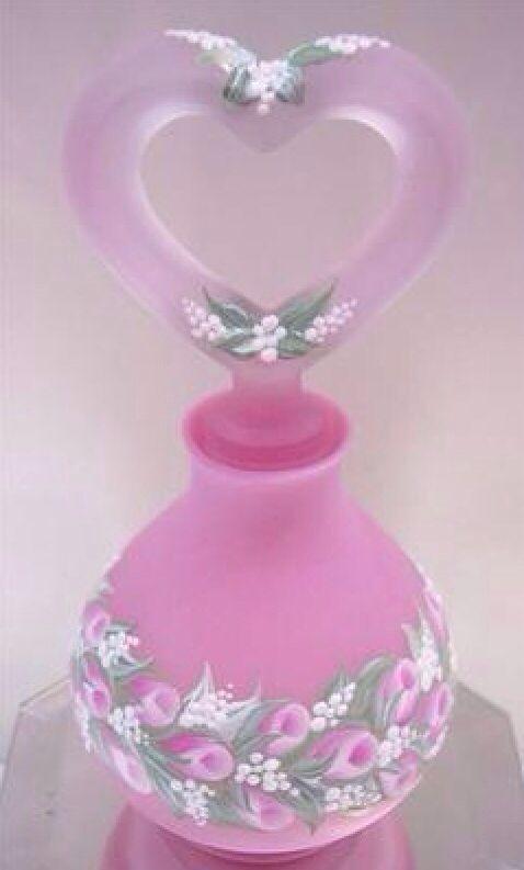 Rose Bud Perfume bottle - one stroke