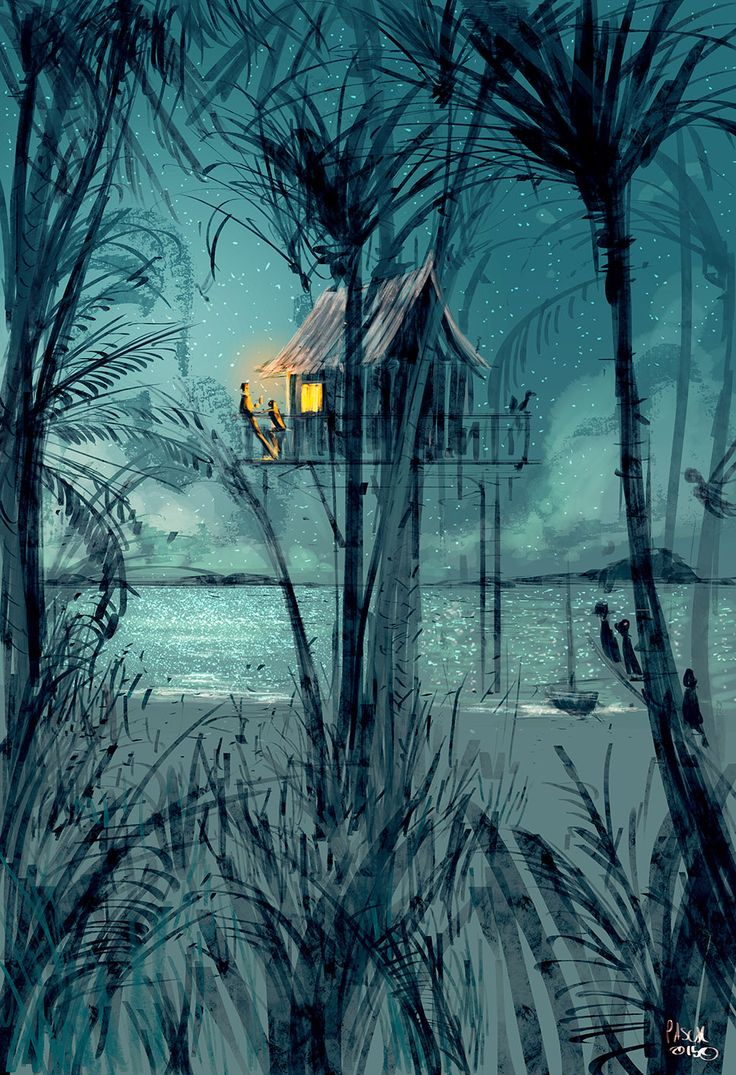 Can we just stay one more night? by PascalCampion.deviantart.com on @DeviantArt