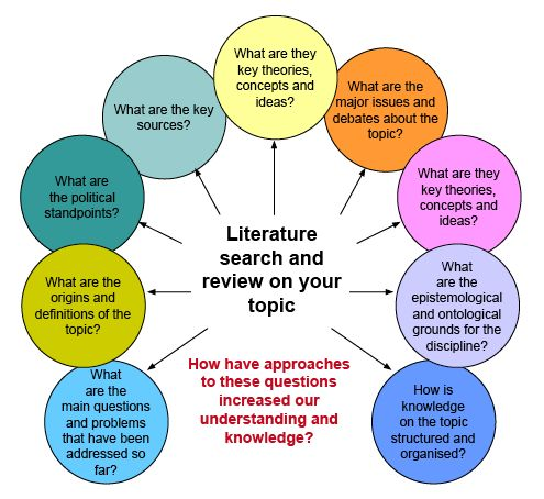sociology literature review example