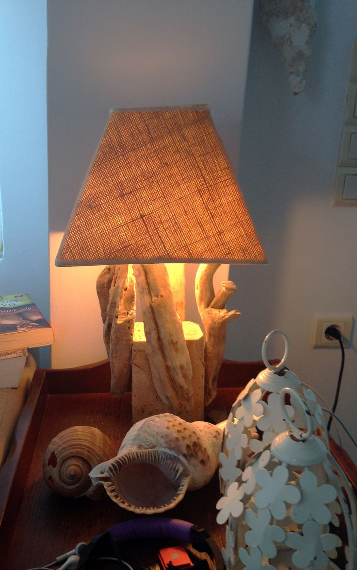 DIY with wood from the sea !