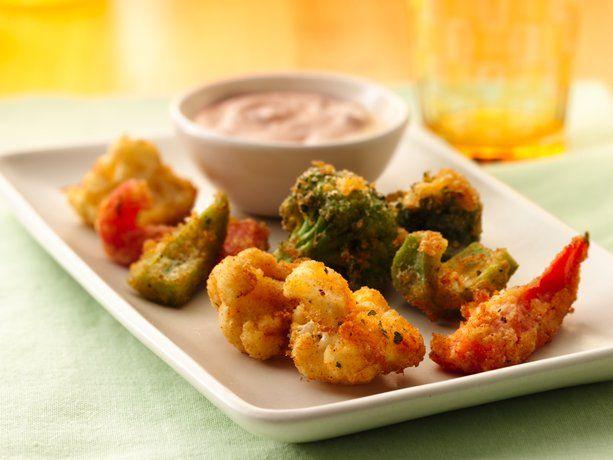 Ranch Veggie Bites: Holidays Parties, Ranch Veggies, Sour Cream, Side Dishes, Originals Bisquick, Betty Crocker, Veggies Bites, Dips, Bites Recipe
