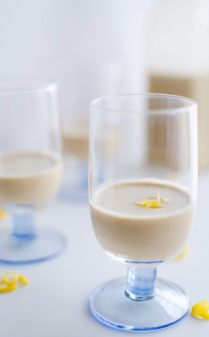 Przepis na limoncello z kawą i śmietanką