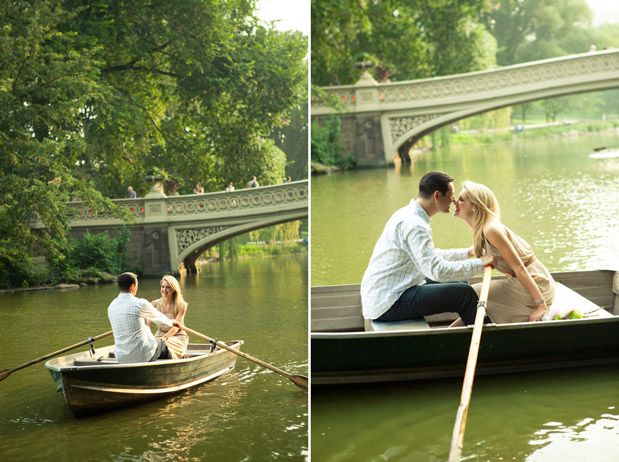 Sweet Couple Photo Idea For Your Central Park Wedding At Bow Bridge