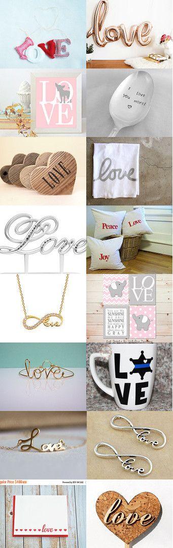 Love  by Marta Kari on Etsy--Pinned+with+TreasuryPin.com