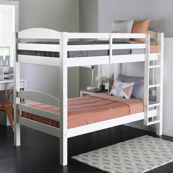 cheap for discount 79123 ecf63 Abby Twin over Twin Bunk Bed | CJ Beds in 2019 | White bunk ...