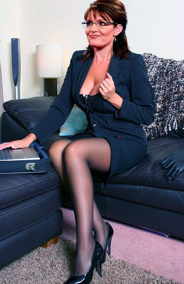 Sarah palin photos pantyhose