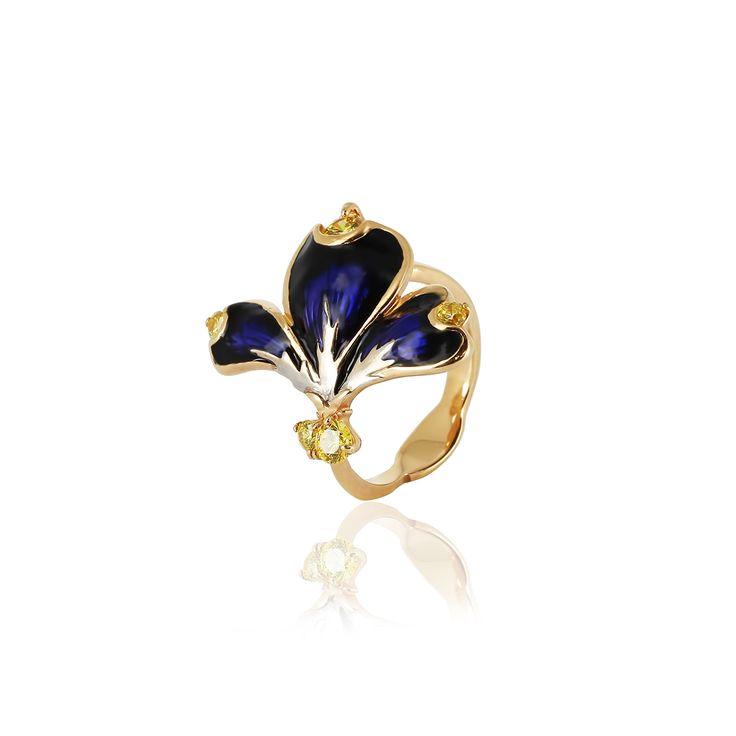 » Кольцо «Пряный крокус»