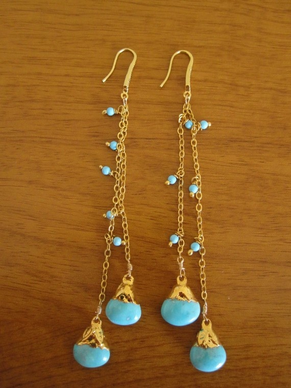 turquoise drops: Drop Earrings, Turquoise Drop, Turquoi Drop