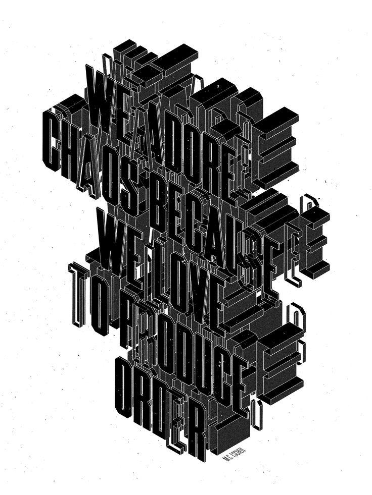 Type & Lettering 2015 on Behance