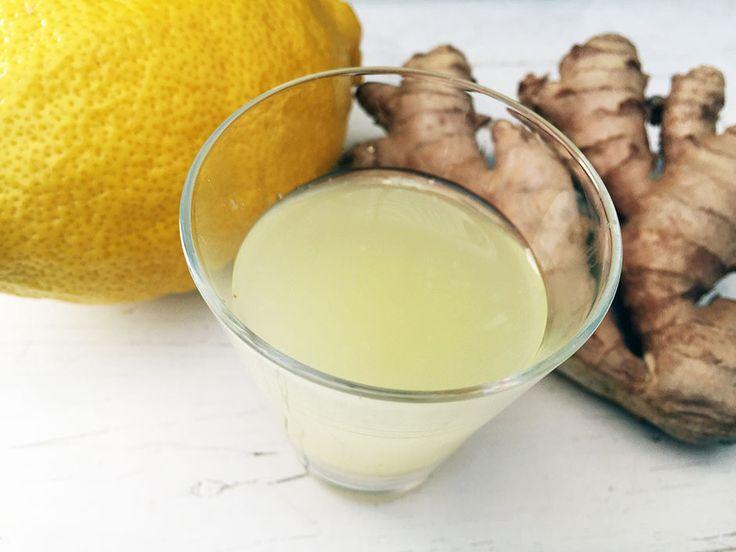 Lenas Ingefärsshot - NYTT RECEPT! Raw food shot med Ingefära, citron och honung till frukost. Helt utan upphettning eller kokning. Nu nyttigare med rawfood.