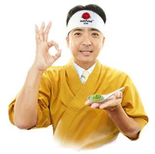 Нами неоднократно проводились «слепые» дегустации соевого соуса «MAYUMI» и дорогого бренда — сушисты выбирают наш соевый соус. Васаби и имбирь также вне конкуренции.