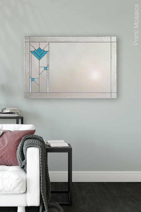 Brighten Your Living Room With This Rectangular Wall Mirror That S Sure To Be A Statement Piece In Your Art Deco Deco Decor Art Deco Decor Living Room Mirrors #rectangle #living #room #mirror
