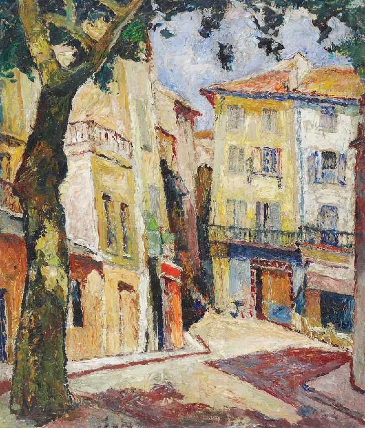 Alley - theme from the South of France, Marie Mela Muter. Polish (1876 - 1967)