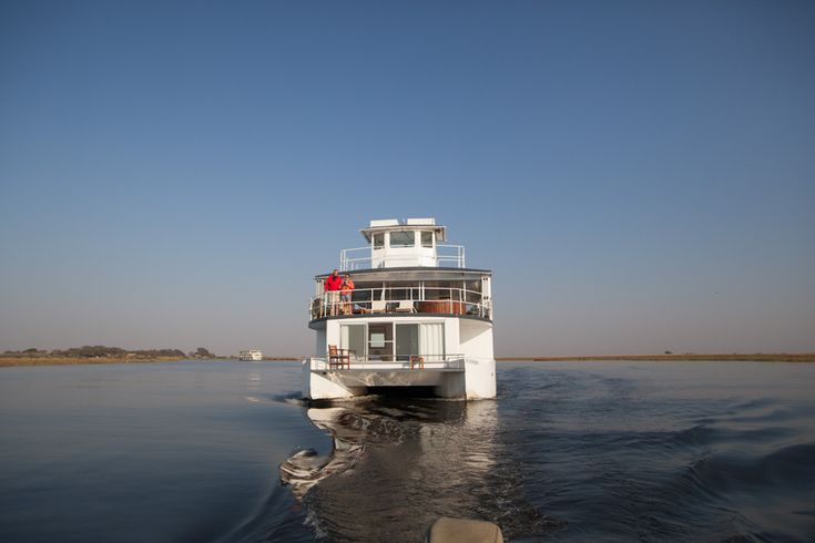 Life is always better on board a Chobe Princess houseboat. Right?   #HouseboatLife #RiverSafari #ChobePrincess