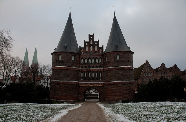 Holstentor  Lubeck, Germany  Great KrisKindl Markt!