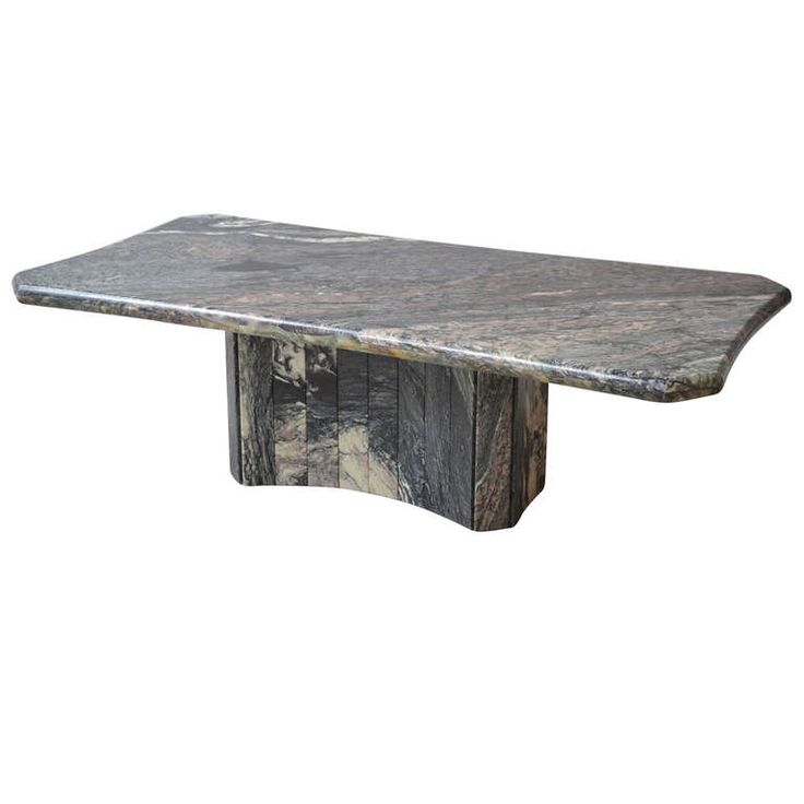 Italian Marble Coffee Table For Sale at 1stdibs
