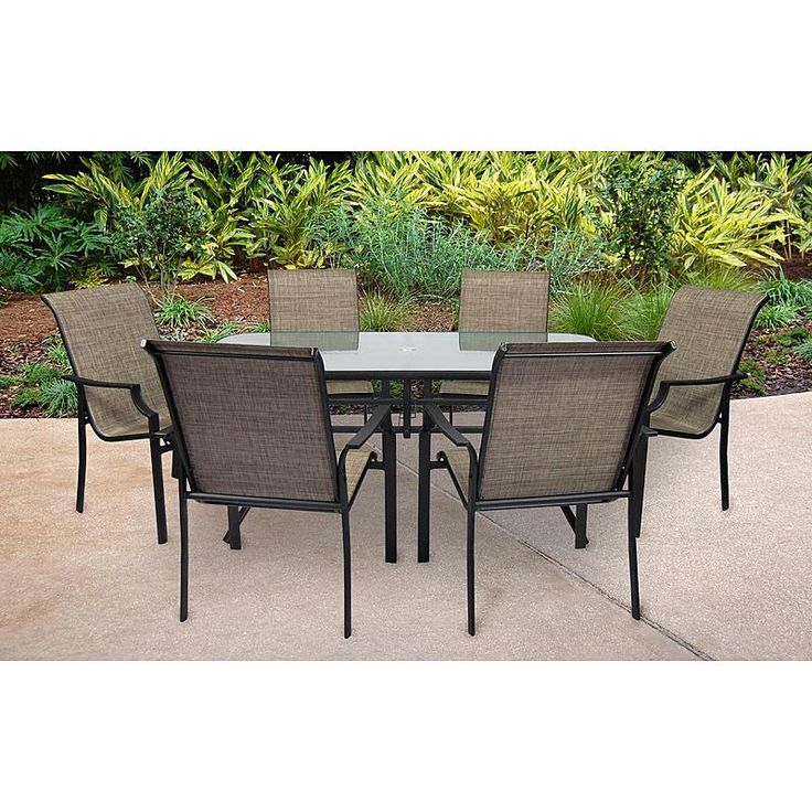 SS 355 2SET   Fairfield 7 Pc Patio Dining Set | Sears Outlet
