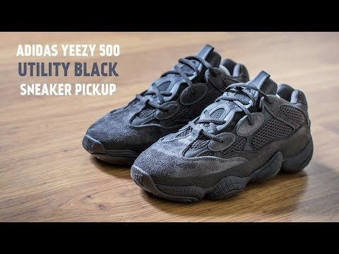 new concept 7419d ccd57 Check out this pickup video of the Adidas Yeezy 500 Utility Black. Find out  where you can still buy a pair of these Adidas Yeezy 500s online!