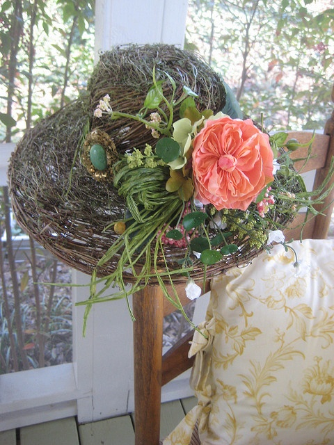Garden Easter Bonnet. Oh yes I will!