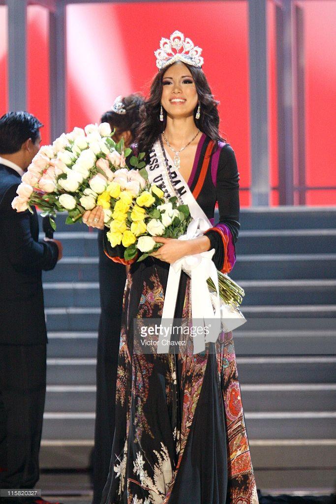 Miss Universe 2007 - Miss Japan Riyo Mori is Crowned Miss Universe ...