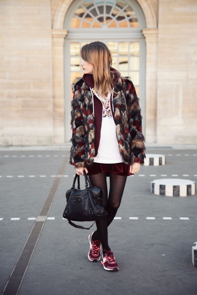 Marie from the blog Into Your Closet http://intoyourcloset.blogspot.fr/2013/12/peacock-fur.html