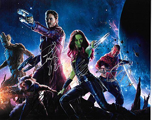 Guardians of the Galaxy cast Signed Autographed 8 X 10 Reprint Photo - Mint Condition @ niftywarehouse.com #NiftyWarehouse #Geek #Gifts #Collectibles #Entertainment #Merch