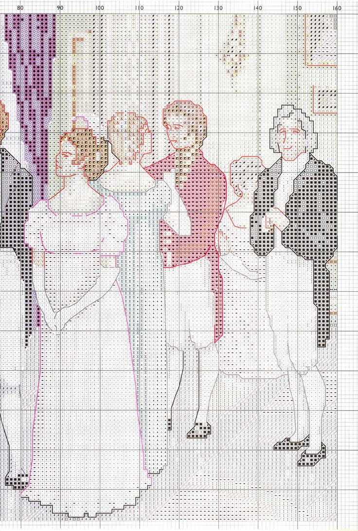 Cross-stitch patterns - Borduur patronen (4)