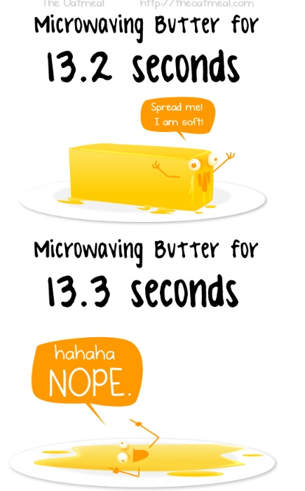 My experience everytime! Via the Oatmeal