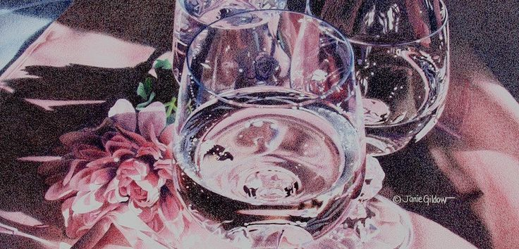 Colored Pencil Techniques: Glass Streaming Video  Learn how to achieve realistic reflections and distortions of clear and colored glass with this colored pencil video workshop.  #coloredpencil #artworkshops