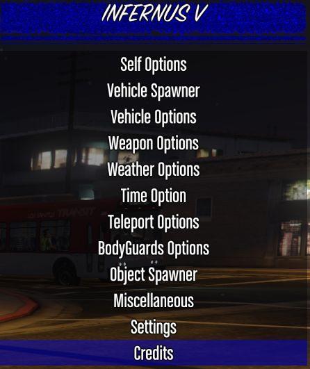 """GTA 5 PC Online 1.35 """"Infernus Menu"""" MOD MENU"""" 1 35"""