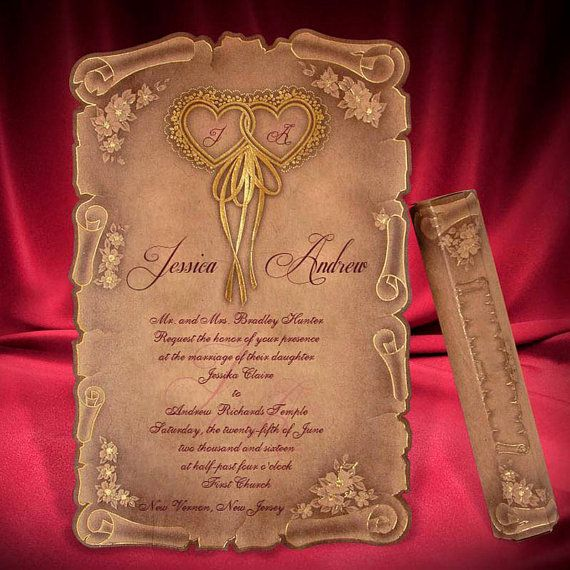 Wedding Invitations Scrolls Tubes: 1000+ Ideas About Scroll Wedding Invitations On Pinterest