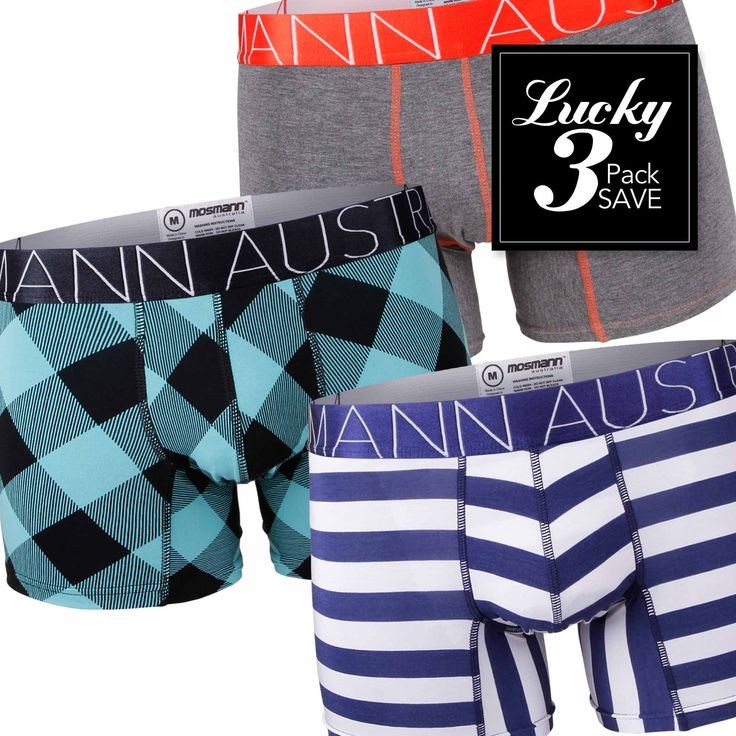 Lucky 3 Day Pack / BOXER BRIEFS
