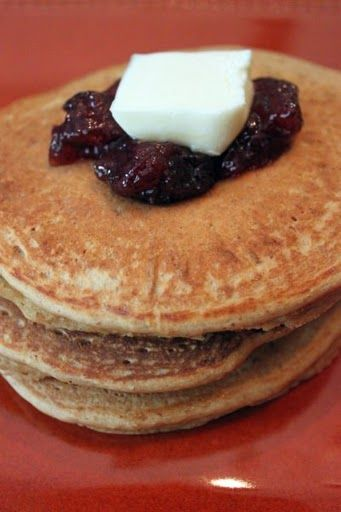 Peanut Butter and Jelly Pancakes | Breakfast | Pinterest
