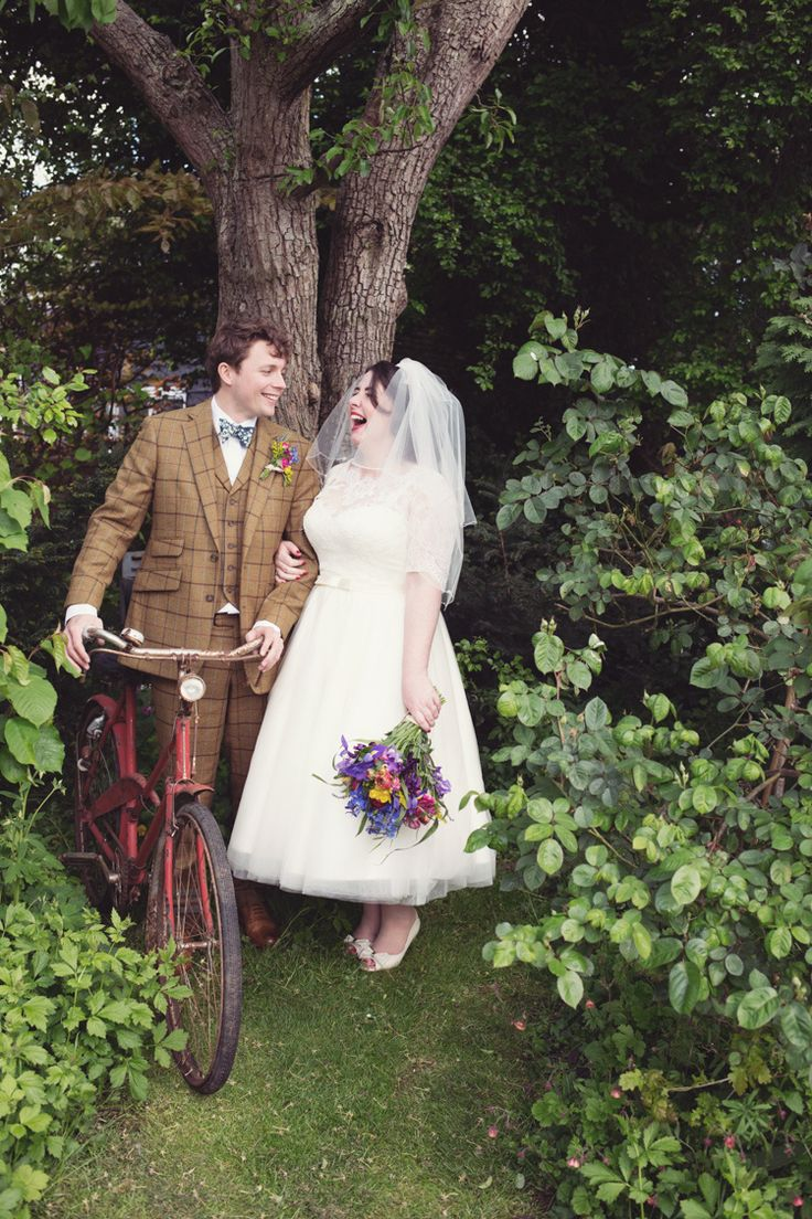 Bicycle Vintage Quirky Budget Village Hall DIY Wedding http://myfabulouslife.co.uk/