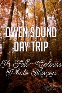 Southern Ontario, Canada is a beautiful area for photography, especially in the fall. Come with me to the area of Owen Sound and Georgian Bay on a fall colors photo mission.