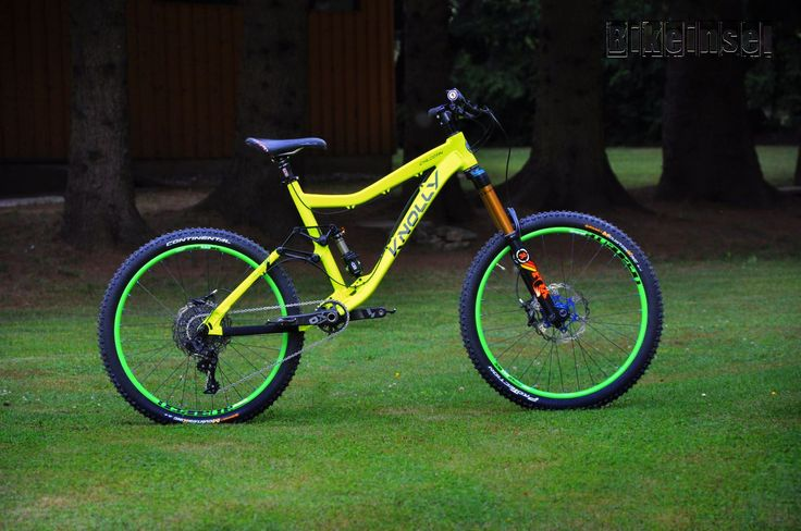 - custom bike from bikeinsel.com - #Knolly #Chilcotin #NeonJungle #Bikeinsel