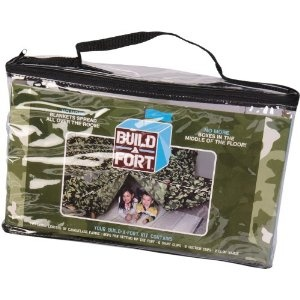 Be Amazing! Toys Build - A - fort Green Camo Tent.  awesome gift for the 4-8 year old boy.