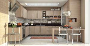 Cozinha Planejada Italinea Betula