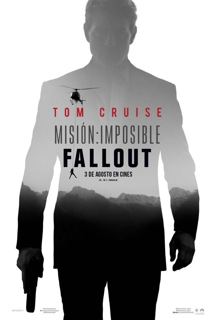 2018 - Misión imposible. Fallout - Mission Impossible. Fallout
