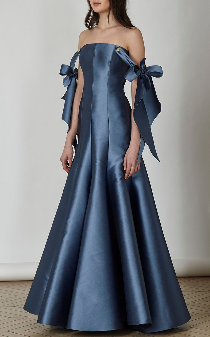 Off the Shoulder Gown by Alexis Mabille