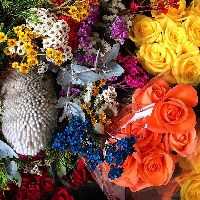 Lot's of  COLOUR to brighten up your day  #melbourne #florist #inlove #vibrant #brightenupyourday #supportlocal #shoplocal #colour  #instagood #instaflowers #instaroses #beautiful #special #melbourne #melbournelifelovetravel #bayside #flowerpower #peace #love #lotsofcolour #beautiful #picturesque #instacolor #superb #magnifique #spectacular #autumn #instaautumn #april