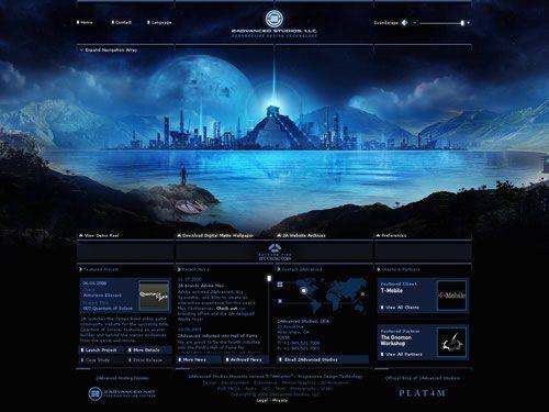 42 Incredible Flash Websites Cool Designs