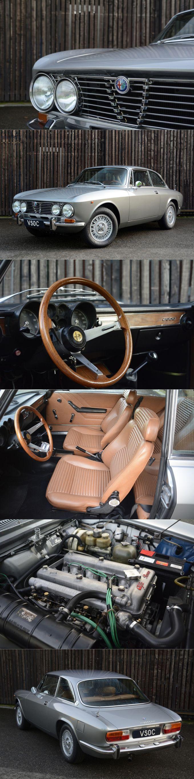 1973 Alfa Romeo 2000 GTV / VSOC.nl / Italy / silver / 17-365