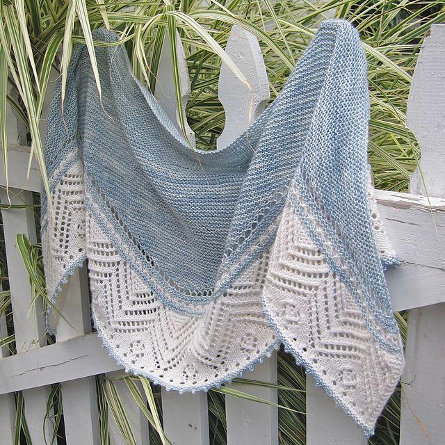 Summer Shawl Knitting Pattern : Colorful Shawl Knitting Patterns Stitches, Summer and Yarns