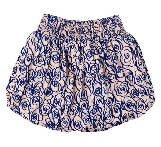 *Dressy play date style*  Baobab Bubble Skirt - Rose Print, Girls Clothing