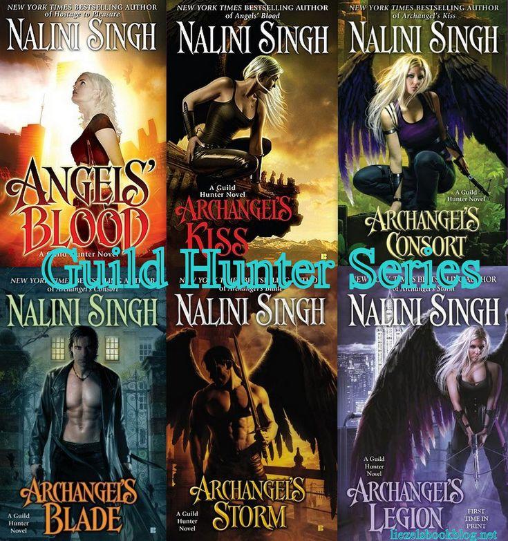 Guild Hunter series by Nalini Singh