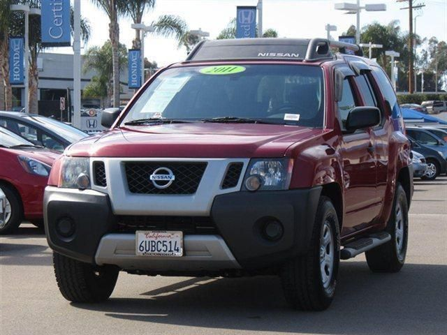 2011 Nissan Xterra S 4x2 S 4dr SUV SUV 4 Doors Red Brick for sale in Escondido, CA Source: http://www.usedcarsgroup.com/used-nissan-xterra-for-sale