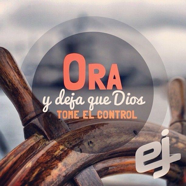 Deja que Dios tome el control